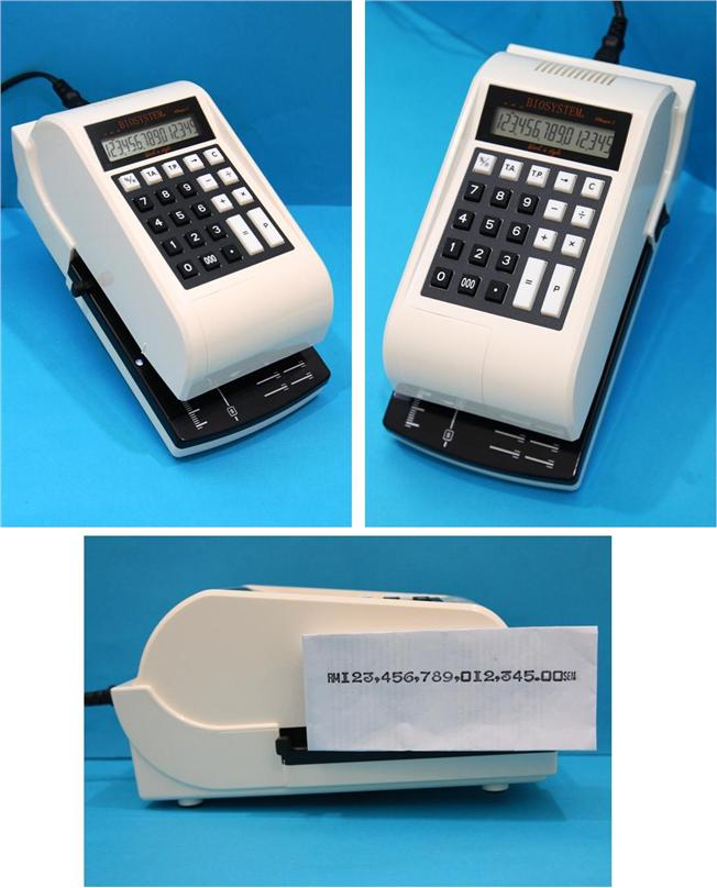 Biosystem iCheque Check Writer Cheque Writer Printer