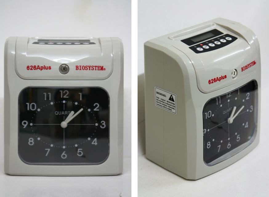 BIOSYSTEM Time Recorder Punch Card Machine 626A