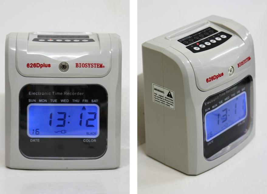 BIOSYSTEM Time Recorder / Punch Card Machine