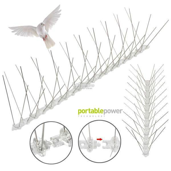 Bird Spike-Stainless Steel (ONE BOX 50 Pcs) - Easy to Apply