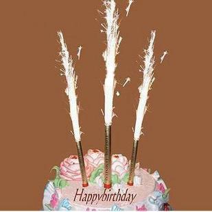 Birthday Fireworks Candles 6pcs For Party Celebration