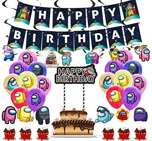 Among Us Birthday Party Supplies End 12 29 2021 12 00 Am