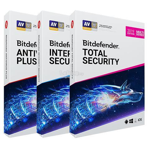 Bitdefender Antivirus Plus / Internet Security / Total Security 2019