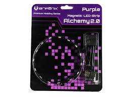 BITFENIX STRIP ALCHEMY 2.0 LED LIGHT (BFA-MAG-30PK15-RP) PURPLE
