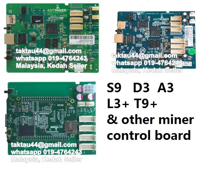 Antminer S9 Bb Control Board Antminer S9 Bitmain