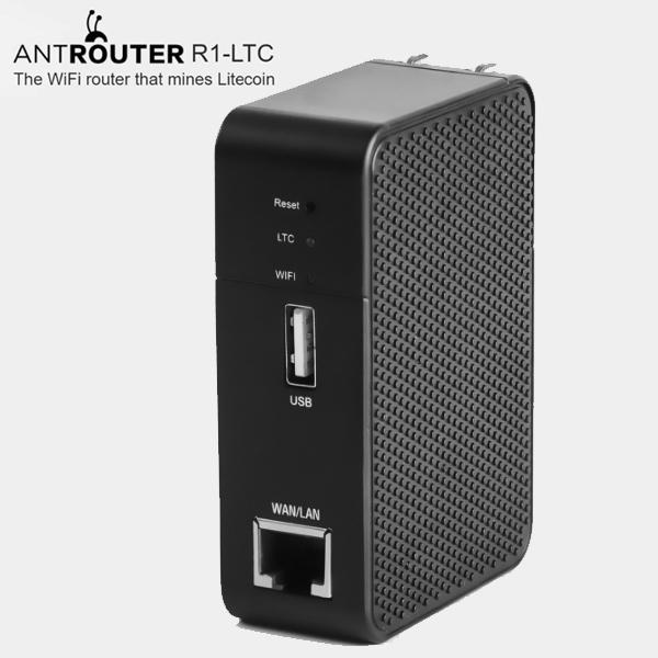 Bitmain AntRouter R1-LTC ASIC ANT Miner Scrypt Miner Litecoin Mining M