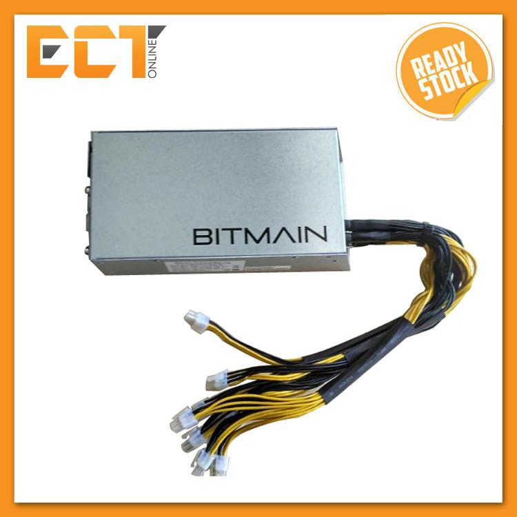 Bitmain APW3-12-1600-A3 6Pin x 10 Antminer PSU 1600W Power Supply