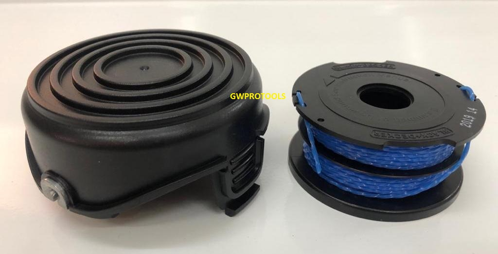 BLACK & DECKER GL5530 GRASS STRIMMER SPOOL CAP &  SPOOL&LINE(COMBO)