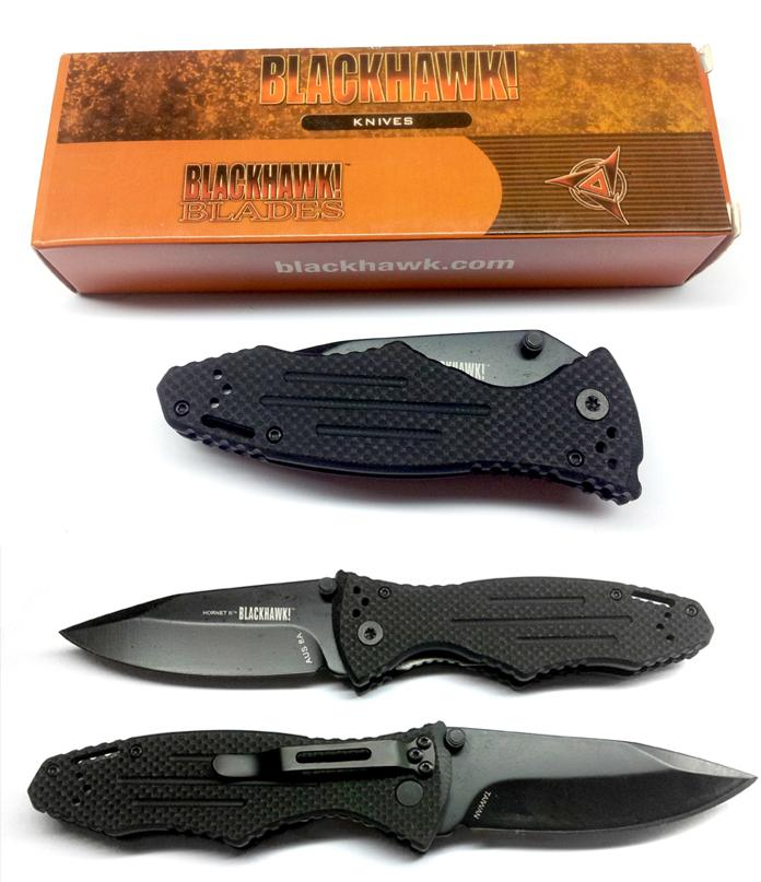Black Hawk Hornet 2 Pocket Folding Knife