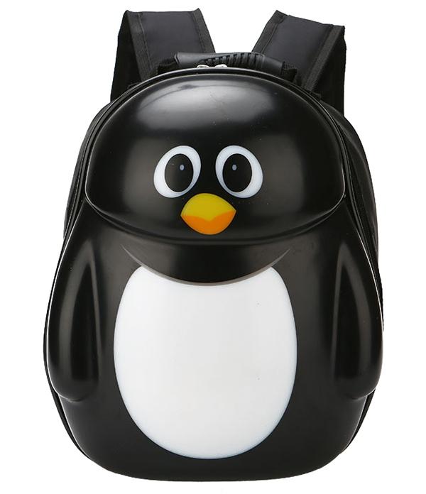 Black Penguin Hard S Children School Bag