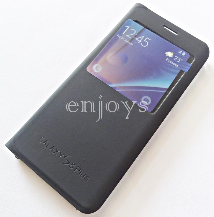BLACK S View Cover Hard Case Samsung Galaxy S8+ Plus /G955F (6.2) *XPD