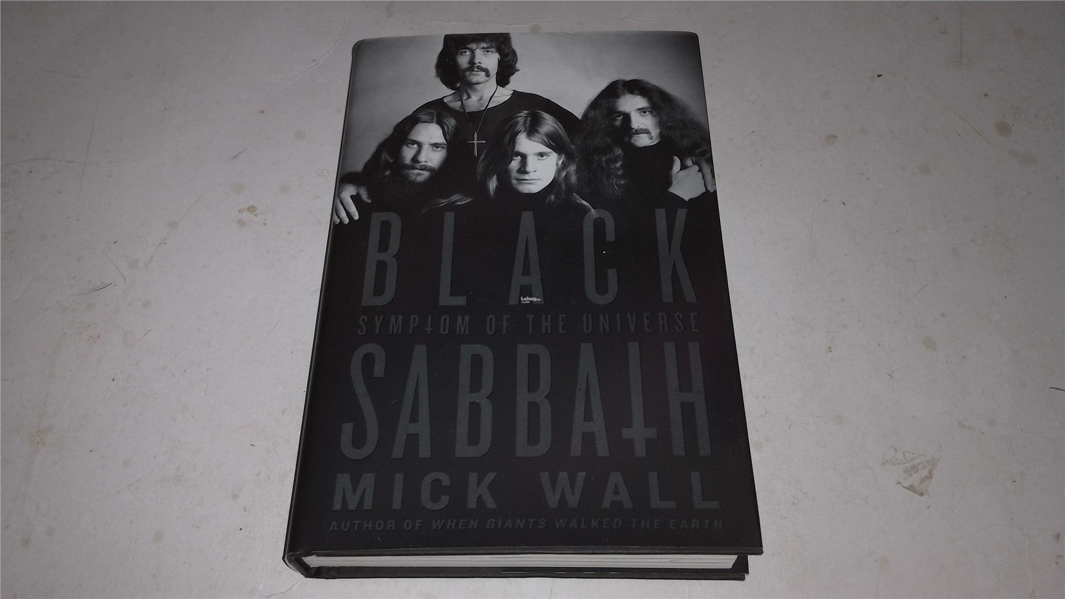 BLACK SABBATH BOOK BIOGRAPHY