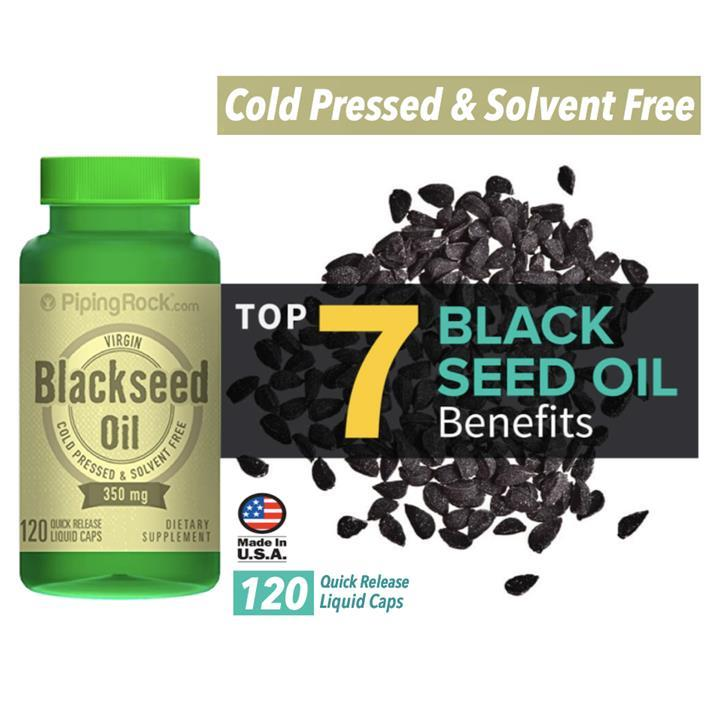 Black Seed Oil 350mg, 120 Sofgels (Blackseed, Cumin, Sesame) USA