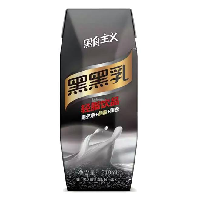 BLACK SESAME BLACK SOY MILK 248ML (1BTL)