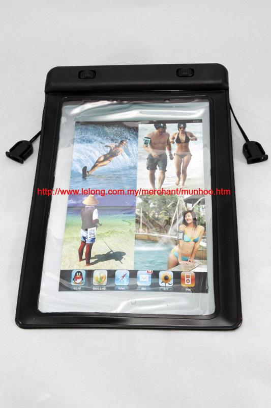 Black Waterproof Swimming Case Bag for Apple iPad Mini
