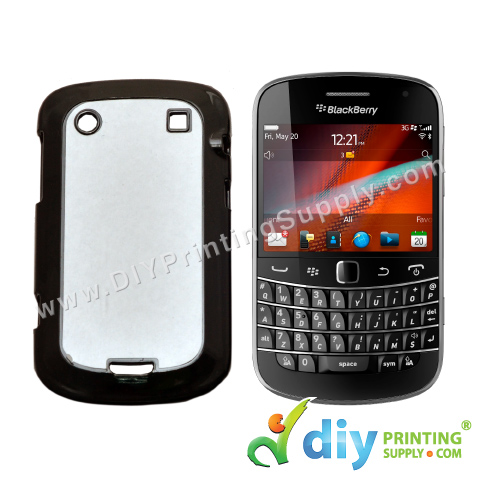 BlackBerry Casing (9900) (Plastic) (Black)