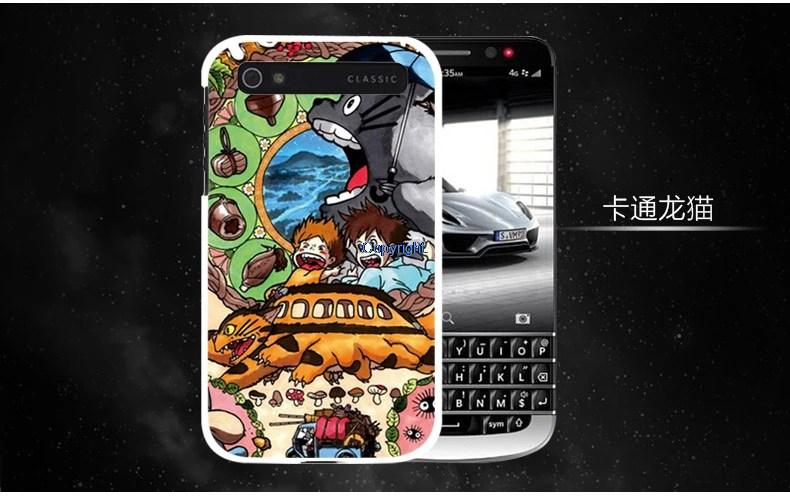 Blackberry classic Q20 cartoon back case Casing Case Cover