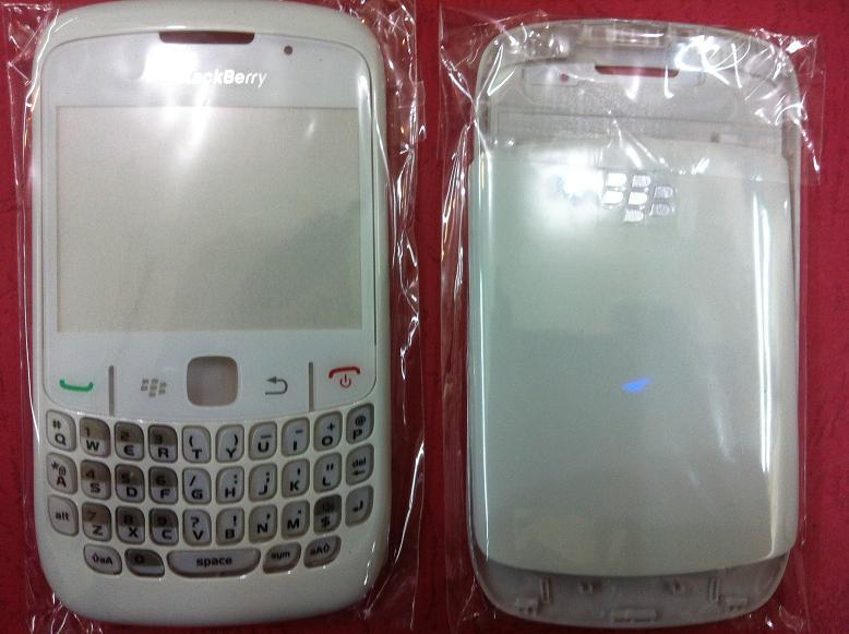 BLACKBERRY CURVE 8520 PEARL WHITE HOUSING