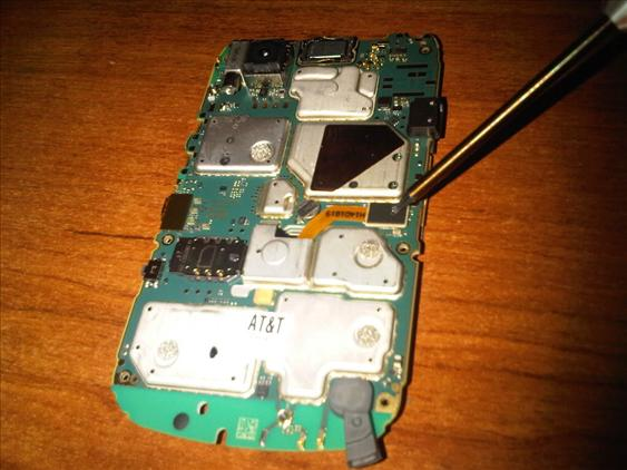 BLACKBERRY HOUSING REPLACEMENT @ ACCESSORIES @ SALES & SERVICE CENTR..