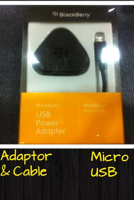 Blackberry MicroUsb Charger Good Grade.