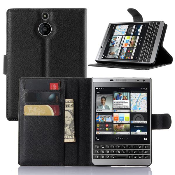 BLACKBERRY PASSPORT SILVER EDITION FLIP PU HANDPHONE CASE
