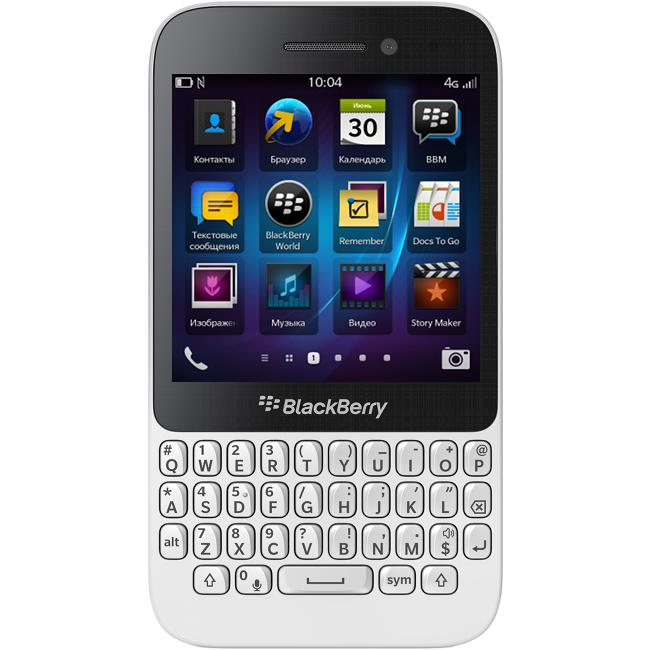 BlackBerry Q5 LTE Smart Phone 8GB White (New)