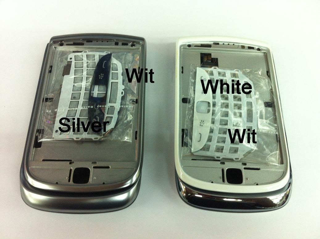 BlackBerry Torch 2 9810 Housing Keypad Middle Board Grey Silver Black