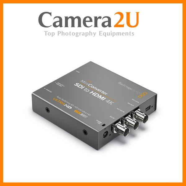 New Blackmagic Design Mini Converter HDMI to SDI 4K