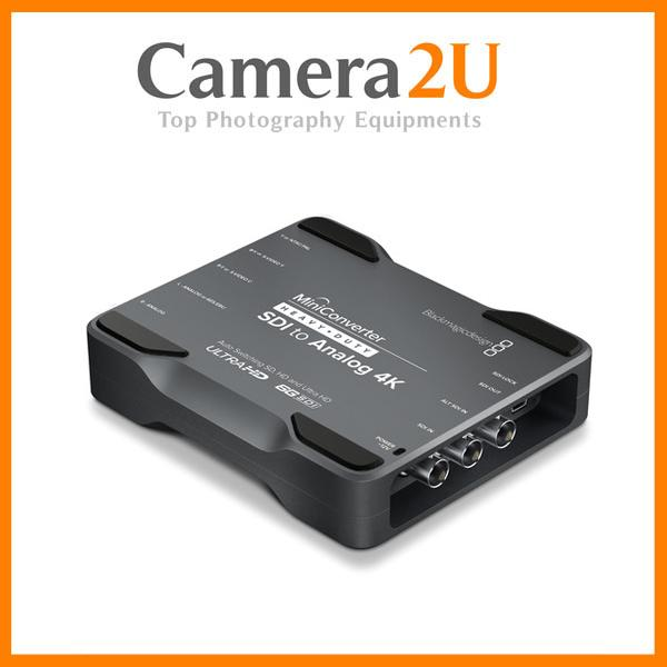 New Blackmagic Design Mini Converter Heavy Duty SDI To Analog 4K