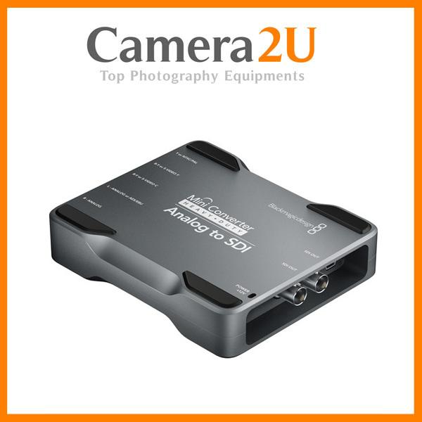 New Blackmagic Mini Converter Heavy Duty Analog To SDI