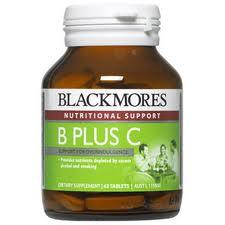 Blackmore Vitamin B + C 120tabs (AUSTRALIA) (Energy , Body Numb, Focus
