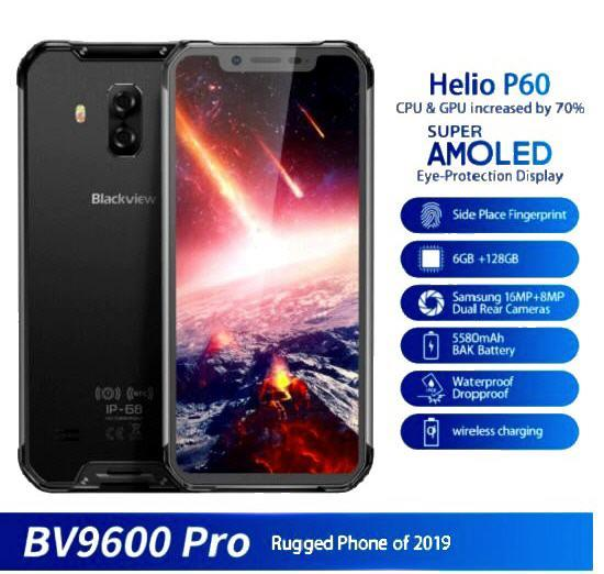 Blackview BV9600 Pro Rugged Smartphone (WP-BV9600PRO)