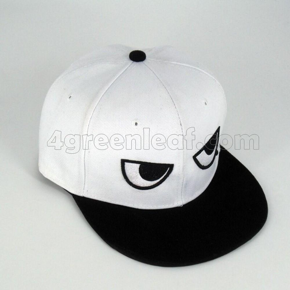 BlackWhite Eyes Snapback Cap Topi (end 4 24 2020 4 31 PM) 9cb62cb09e