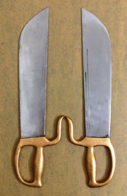 Blade Keris Weapon Knife Hand Forged Wing Chun Butterfly Chinese Sword