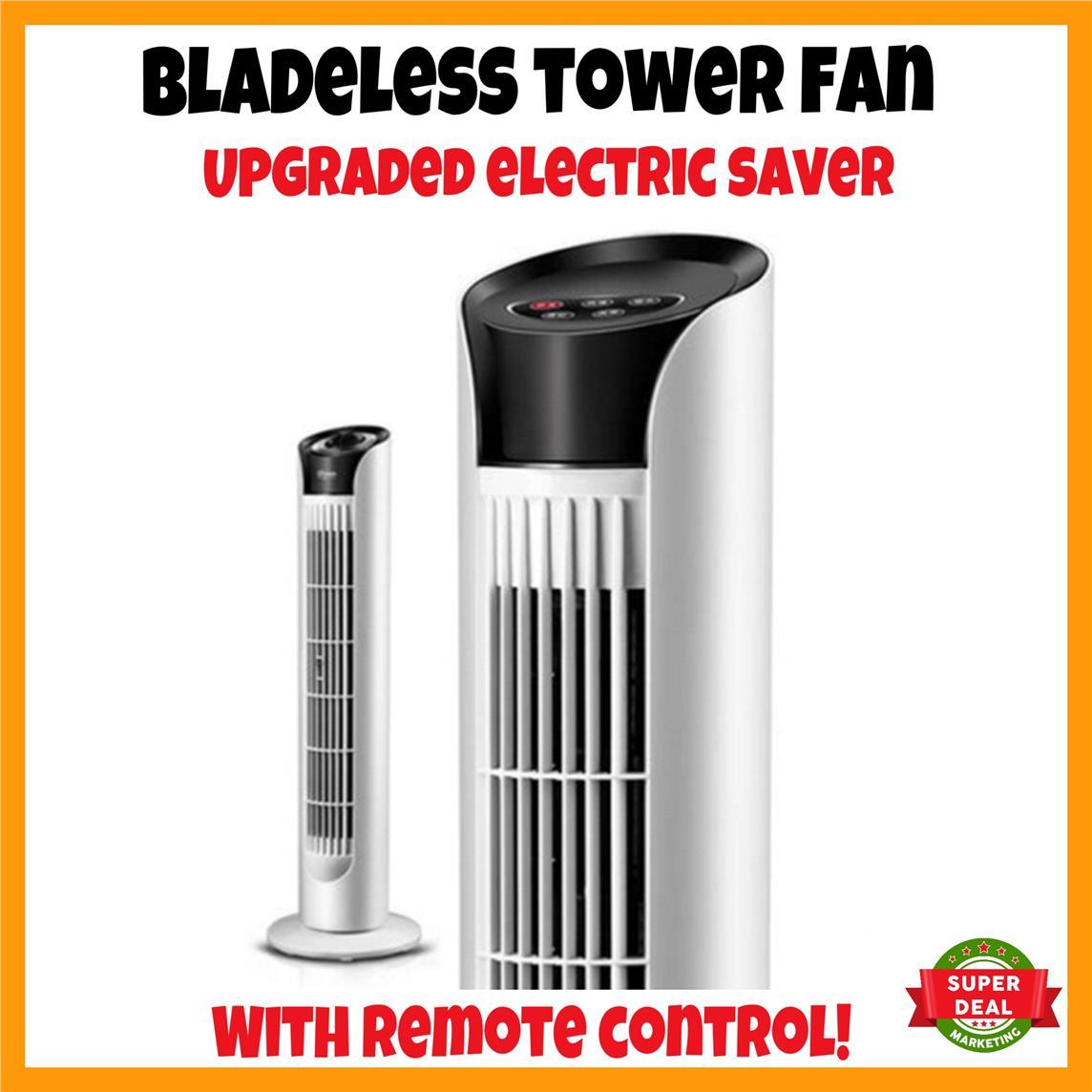 NEW Bladeless Fan Tower Fan Remote Control Fan Standing Fan Control