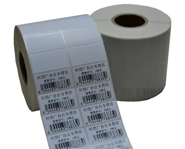 Blank Barcode Label Sticker 35mm x 25mm (2ply) (2000pcs) 30rolls