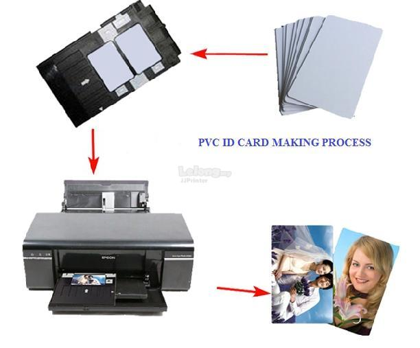 Blank Inkjet PVC ID Card for Epson printer T60 L800 L805 L850 (10 pcs)