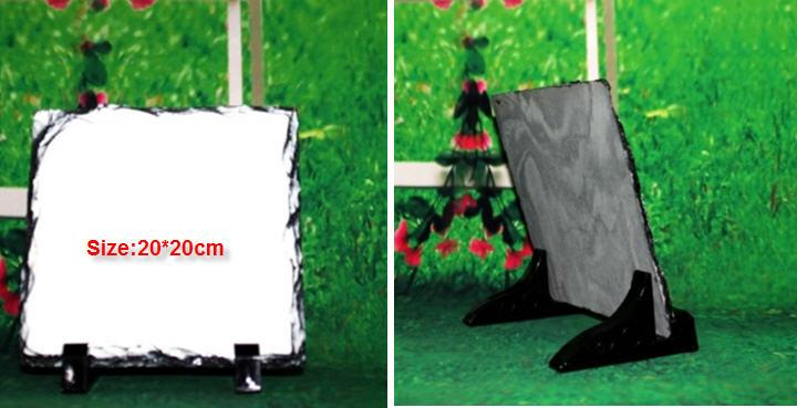 Blank Sublimation Photo Rock, Photo Stone Printing 20*20cm