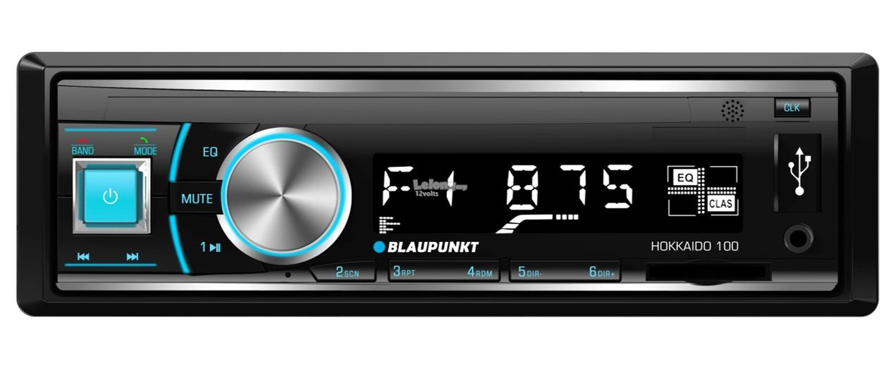 BLAUPUNKT HOKKAIDO 100 Single DIN Bluetooth USB SDHC MP3 Radio