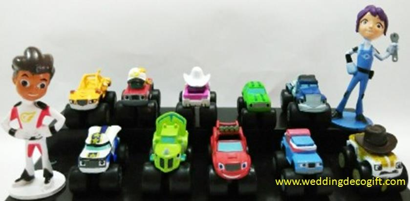 Blaze and The Monster Machines Cake Topper Figures - BMCT01