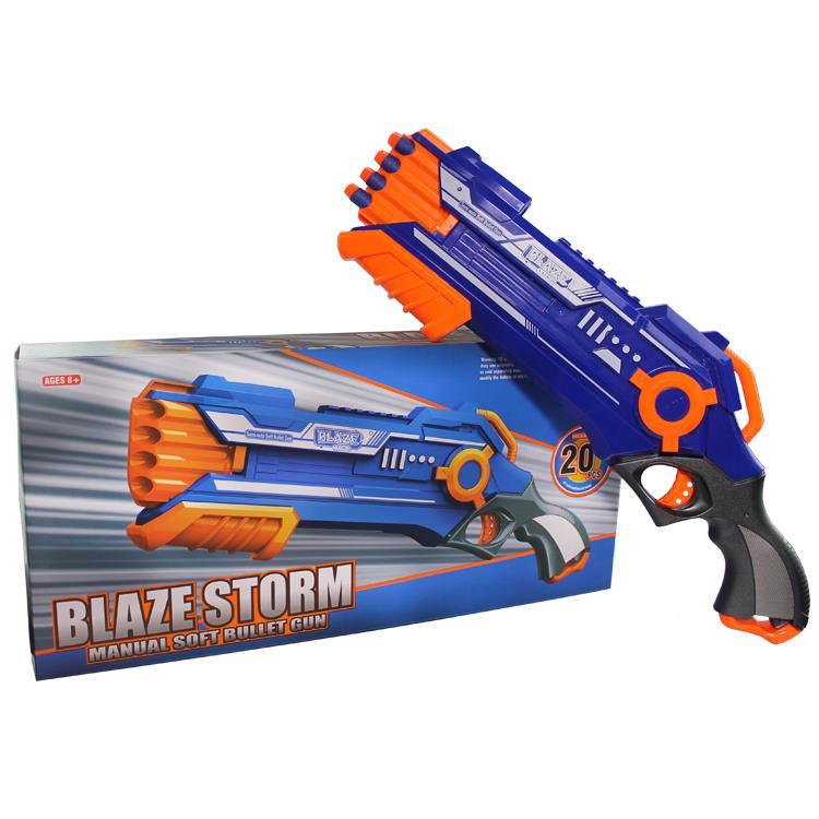 Blaze Storm Nerf Gun Hellfire Shotgun REAPER Toy Gun