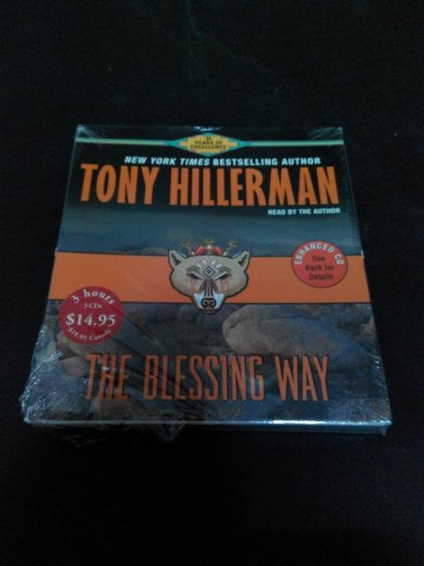 THE BLESSING WAY - TONY HILLERMAN (AUDIO BOOK CD)