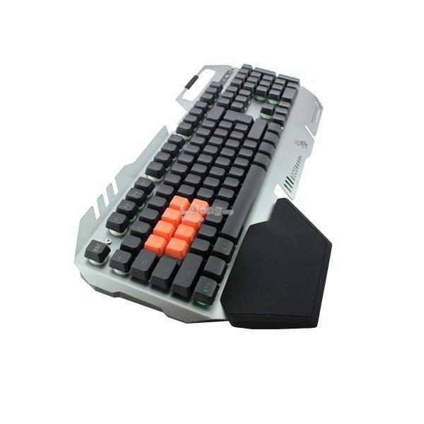 ff931be317a Bloody B418 Light Strike 8-Infrared Switch Gaming Keyboard (Silver)