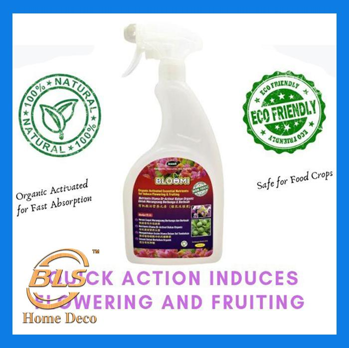 BLOOMI 1000ML ORGANIC NUTRIENTS FOR INDUCE FLOWERING AND FRUITING