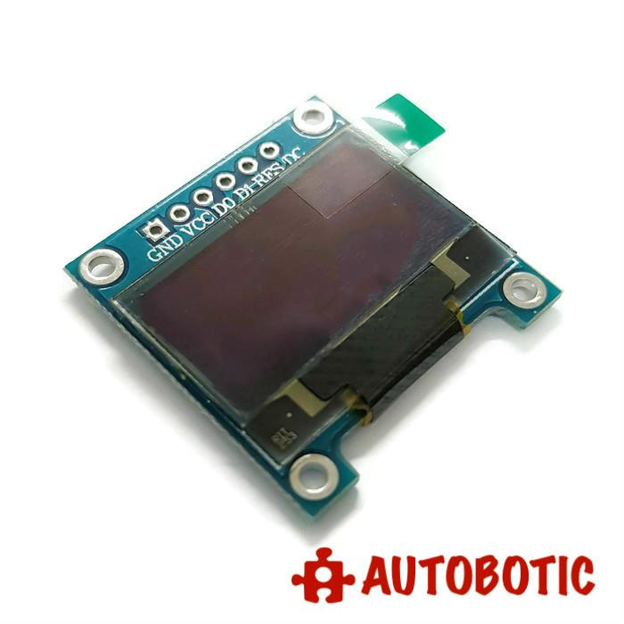 Blue 0 96 Inch SPI 128X64 OLED LCD Display Module for Arduino