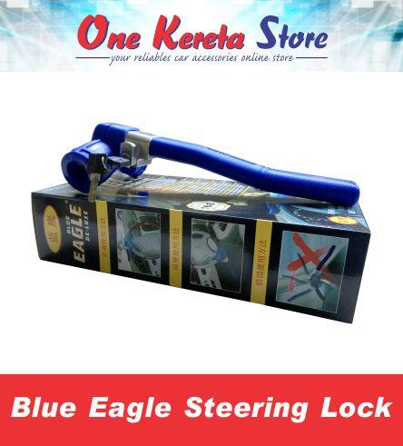 Blue Eagle De-luxe Steering Wheel Lock 168