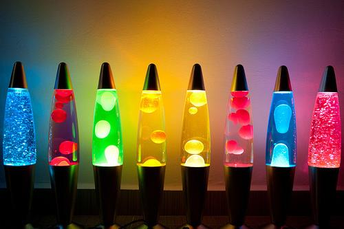 Blue Lava Lamp Best For Night Light Decoration, Room Or Living Hall