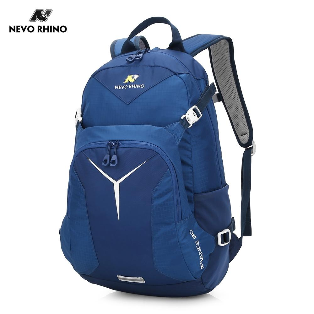 BLUE NEVO RHINO 30L Outdoor Climbing Nylon Water-resistant Sports Back..