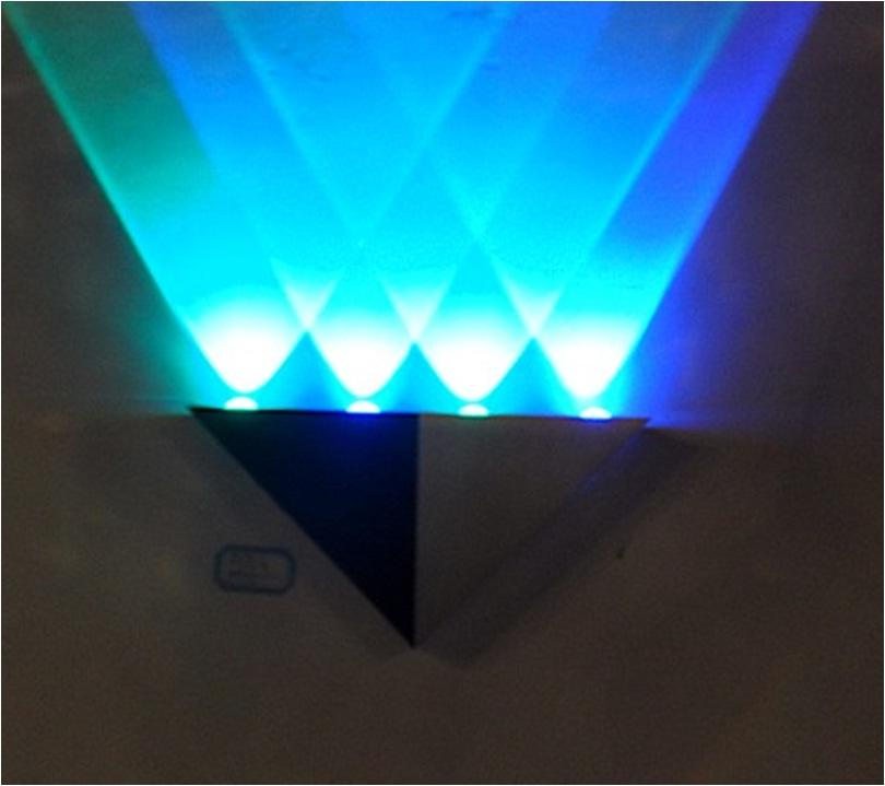 Led Wall Light Decor: Blue Quality Indoor Home Decoration (end 8/31/2019 10:32 PM