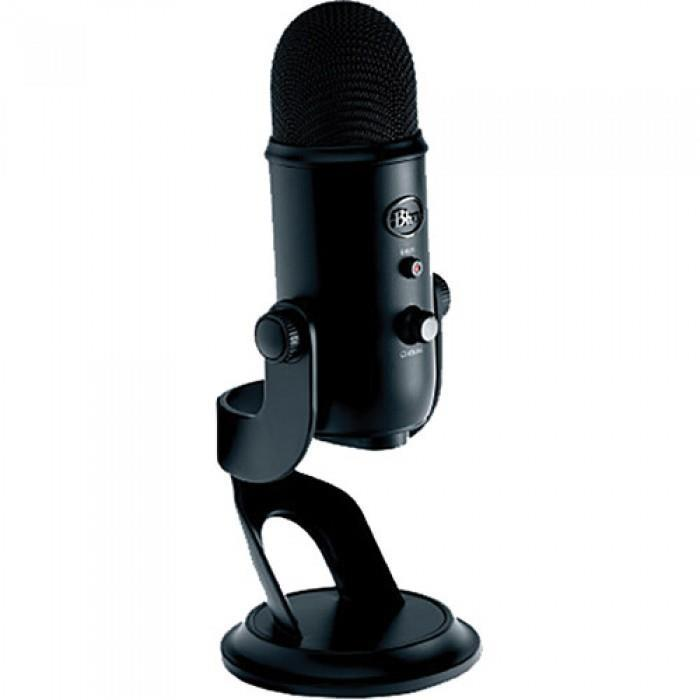 Blue Yeti USB Microphone (Blackout Edition)
